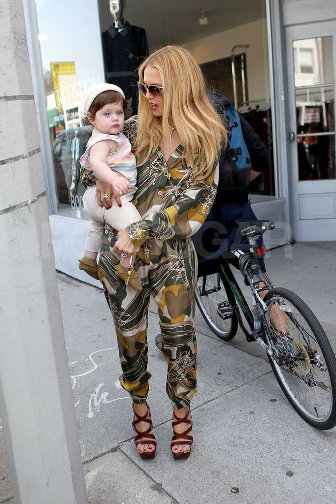 Rachel Zoe and Skyler went on a shopping trip in West Hollywood together.