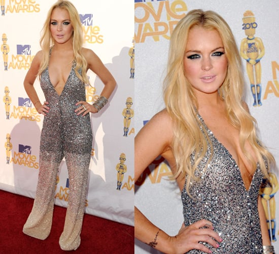 Lindsay Lohan at 2010 MTV Movie Awards 2010-06-06 18:02:44