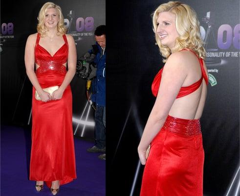 Rebecca Adlington at Sports Personality Awards 2008