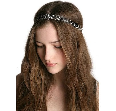 A headband for the birds