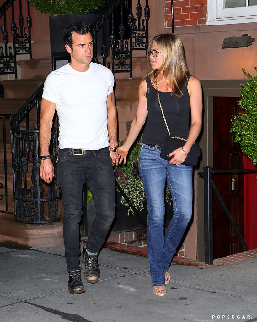 Jennifer Aniston Heads Back to the Set After a Hot Date With Justin Theroux