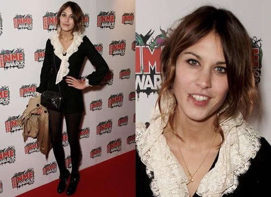 Alexa Chung at the 2009 NME Awards, London