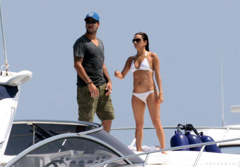 Eduardo Cruz and Eva Longoria visited Spain during their July 2011 getaway.