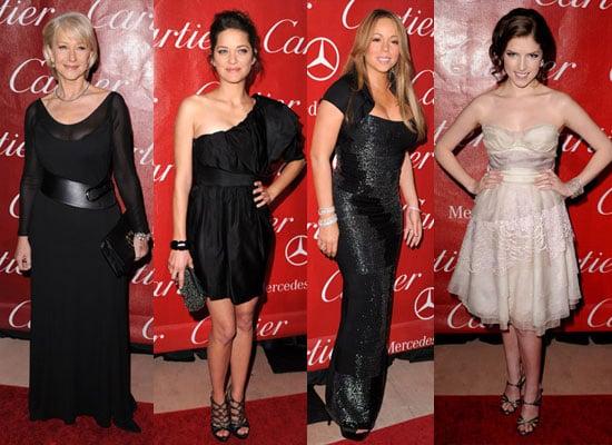 Photos of Marion Cotillard, Helen Mirren, Mariah Carey, Anna Kendrick at 2010 Palm Springs Film Festival Full List of Winners
