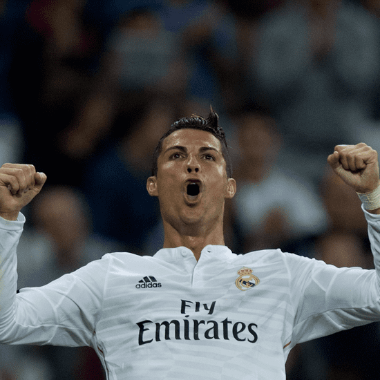 Cristiano Ronaldo Gives Shirt to Boy He Hit With Ball