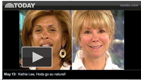 The Today Show Anchors Without Makeup