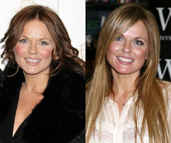 Which color is better on Geri Halliwell?