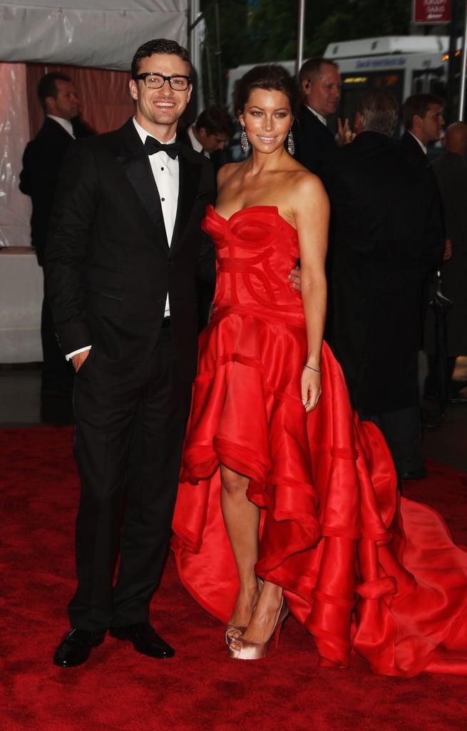 Justin Timberlake and Jessica Biel — 2009