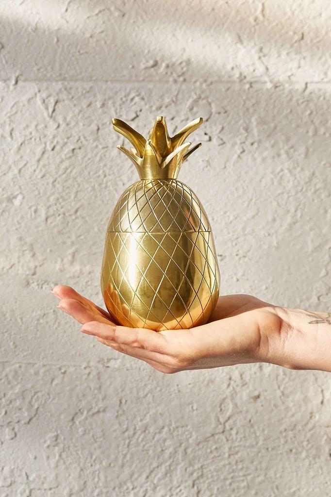 Brass Pineapple Tumbler