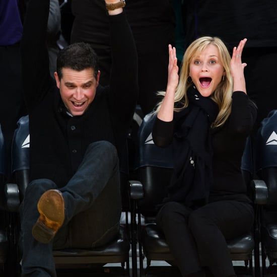 Reese Witherspoon and Jim Toth at Lakers Game | Pictures