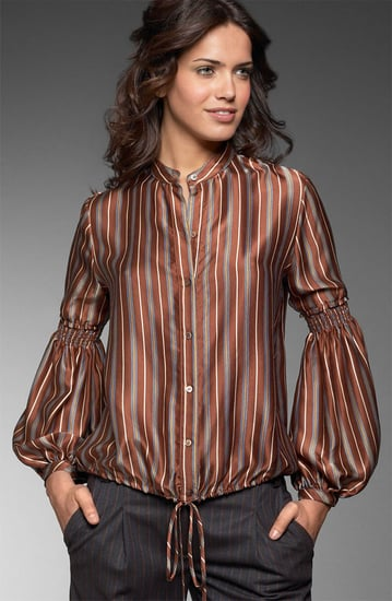 BCBG Max Azria Dandy Stripe Blouse: Love It or Hate It?