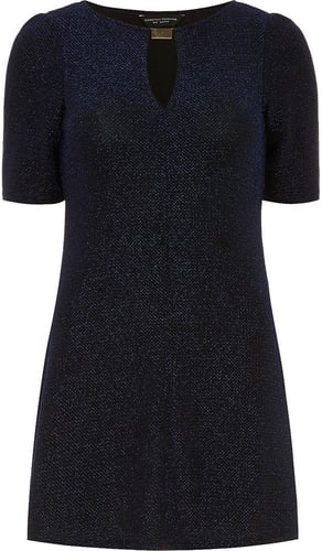 Blue shimmer tunic