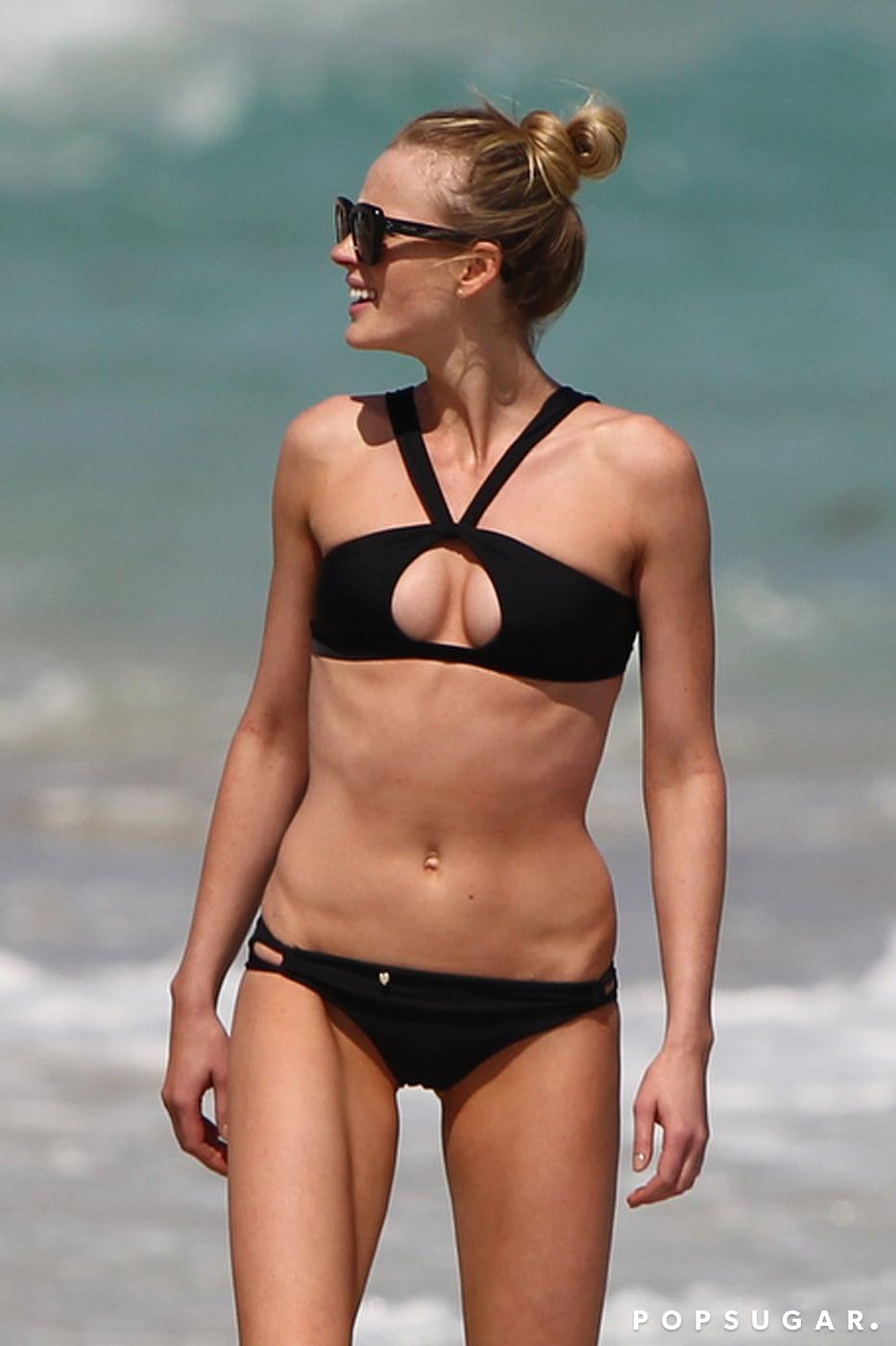 Even on Her Off Days, Anne V Still Works a Bikini