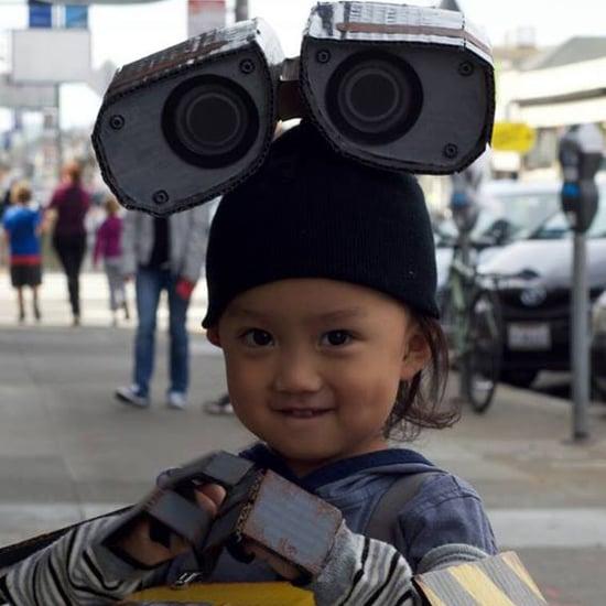 DIY WALL-E Costume For Kids