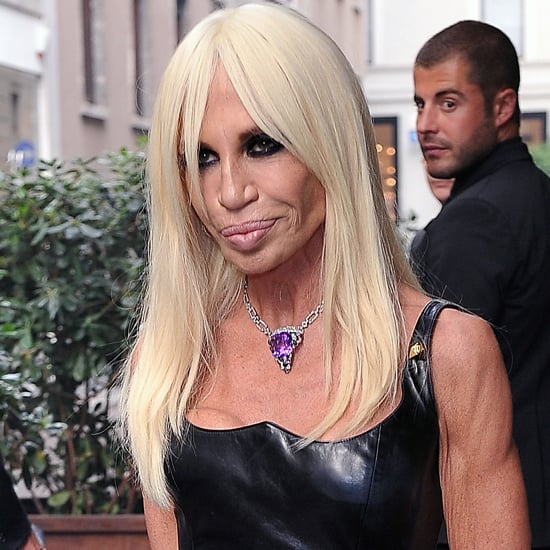 "Donatella Versace on Critics Who Call Her Clothes ""Tacky"""