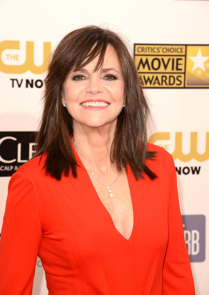 Sally Field shared her smile at the Critics' Choice Awards.