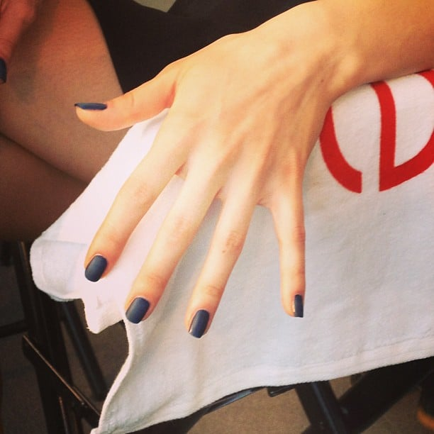 This manicure at Costello Tagliapietra was a three-polish process.