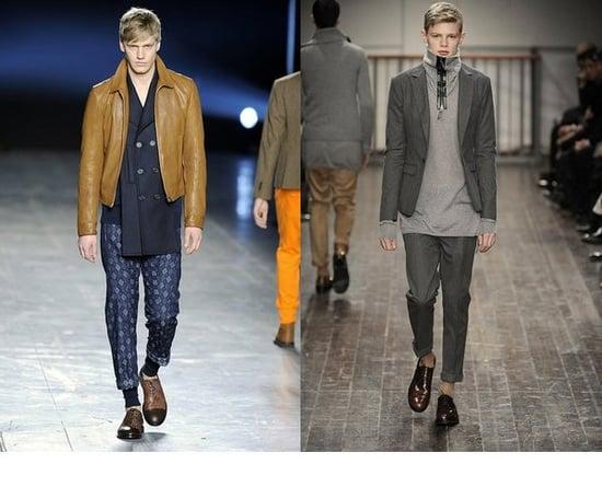 Fall 2009 Men's Trend Report: Cuffed Trousers