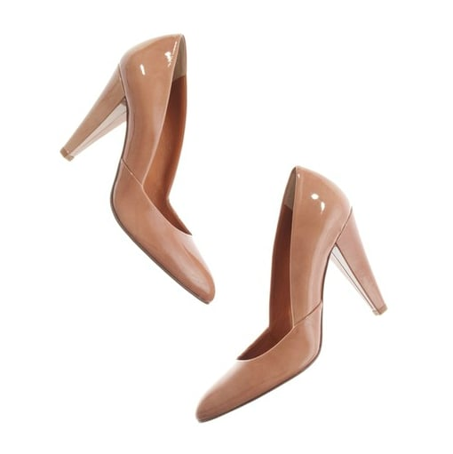 Consider these your no-brainer-go-with-everything heels.  Madewell The Patent Film Noir Pump ($188)