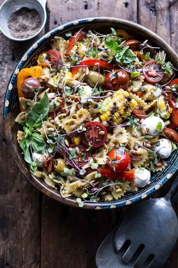 Everything-but-the-Kitchen-Sink Pasta Salad