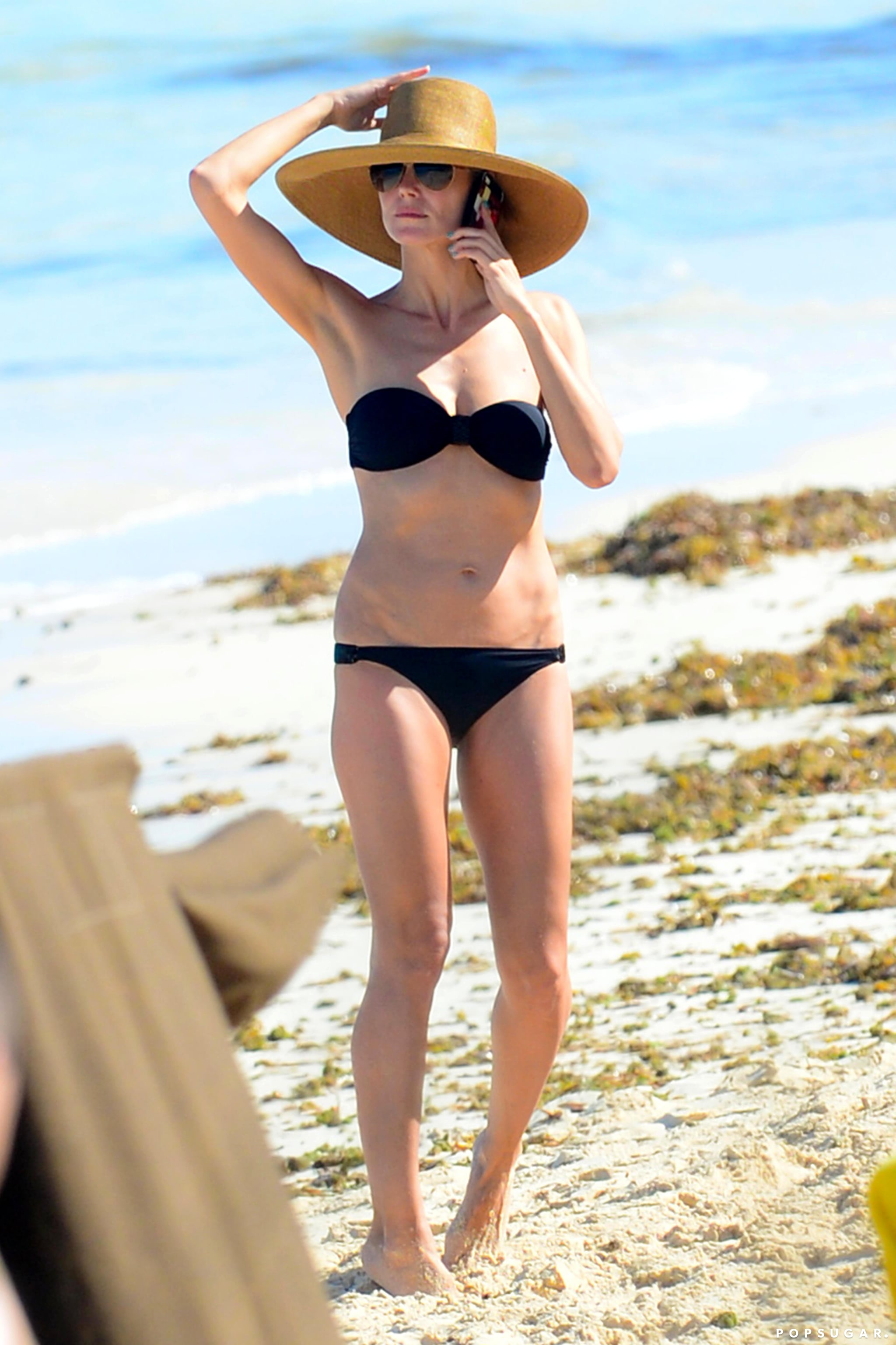 Heidi Klum Takes Her Bikini Body to the Bahamas