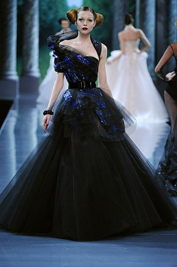 John Galliano Plays Peekaboo with Fall 2008 Dior Couture