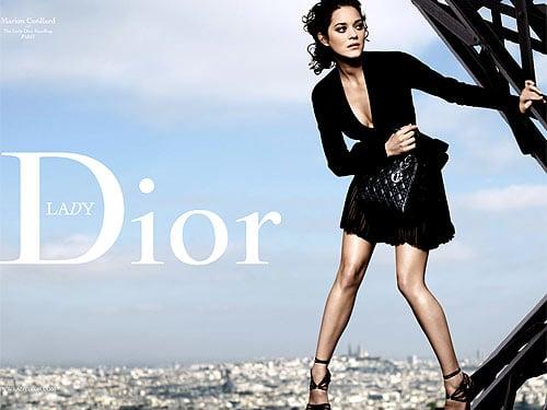 Marion Cotillard's Lady Dior Falls Short of Lady Lisa