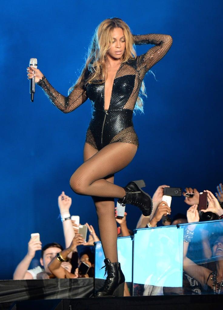 Beyoncé in Versace