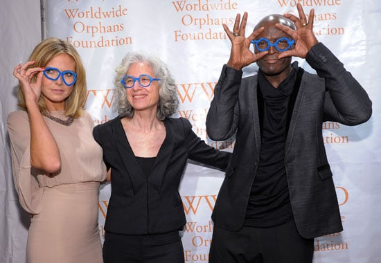 Heidi Klum and Seal at the Worldwide Orphans Fundraiser Benefit