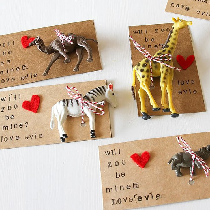DIY Noncandy Printable Valentines Day Cards For Kids