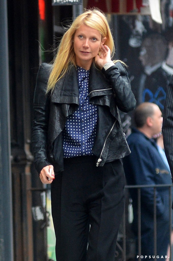 After Chris Dines With Rihanna, Gwyneth Steps Out Solo