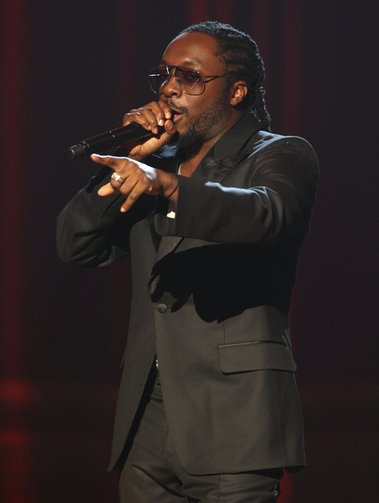 Will.I.Am took the stage in 2007.