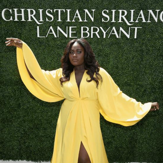 Danielle Brooks Modeling For Christian Siriano x Lane Bryant