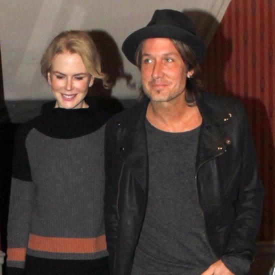 Nicole Kidman and Keith Urban in London October 2015