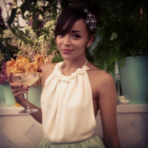 Ashley Madekwe looked gorgeous in Camilla and Marc at the Melbourne Cup. Source: Instagram user smashleybell