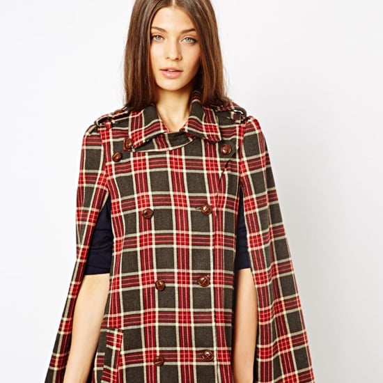 Retro '70s Cape by Jarlo in ASOS sale