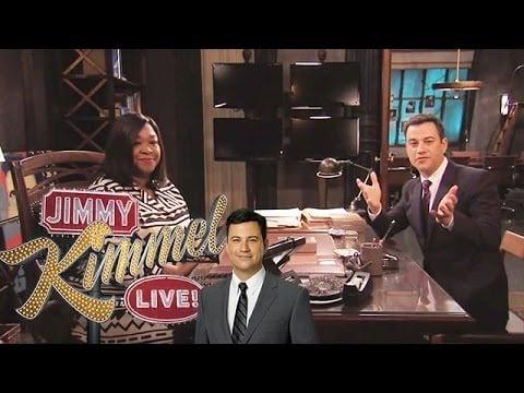 All the Scandal Stars on Jimmy Kimmel Live