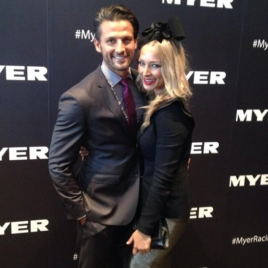 Tim Robards Anna Heinrich Celebrities At 2014 Golden Slipper