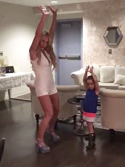 Material Girls! Britney Spears Dances with Niece Lexie to Wish Madonna Happy Birthday