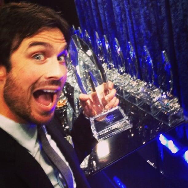 The Award-Winning Selfie