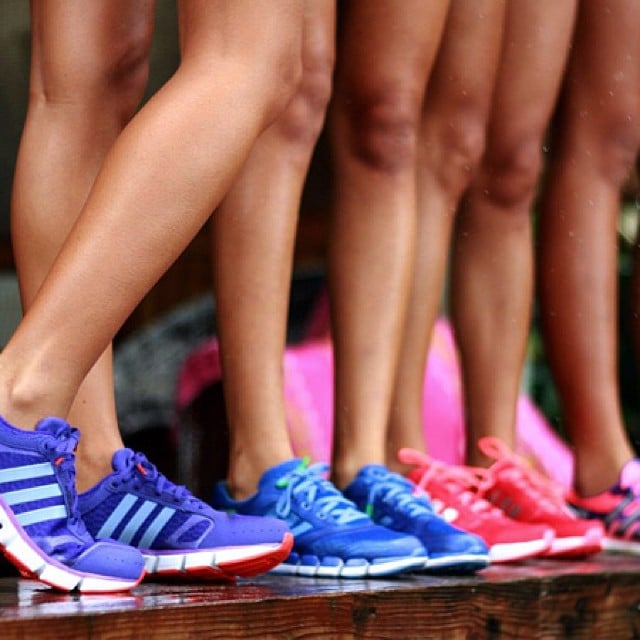 Adidas reminding us that this season is all about bright and colourful footwear. Source: Instagram user adidasau
