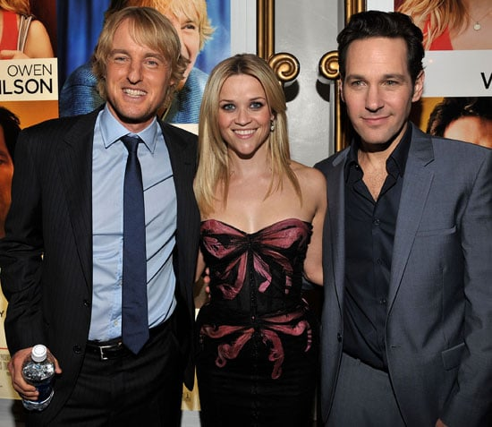 Pictures of Reese Witherspoon, Owen Wilson, and Paul Rudd at How Do You Know LA Premiere