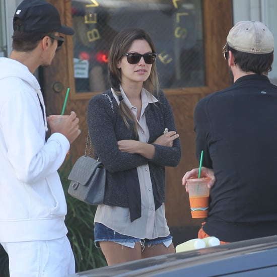 Pictures of Jon Hamm With Rachel Bilson in LA