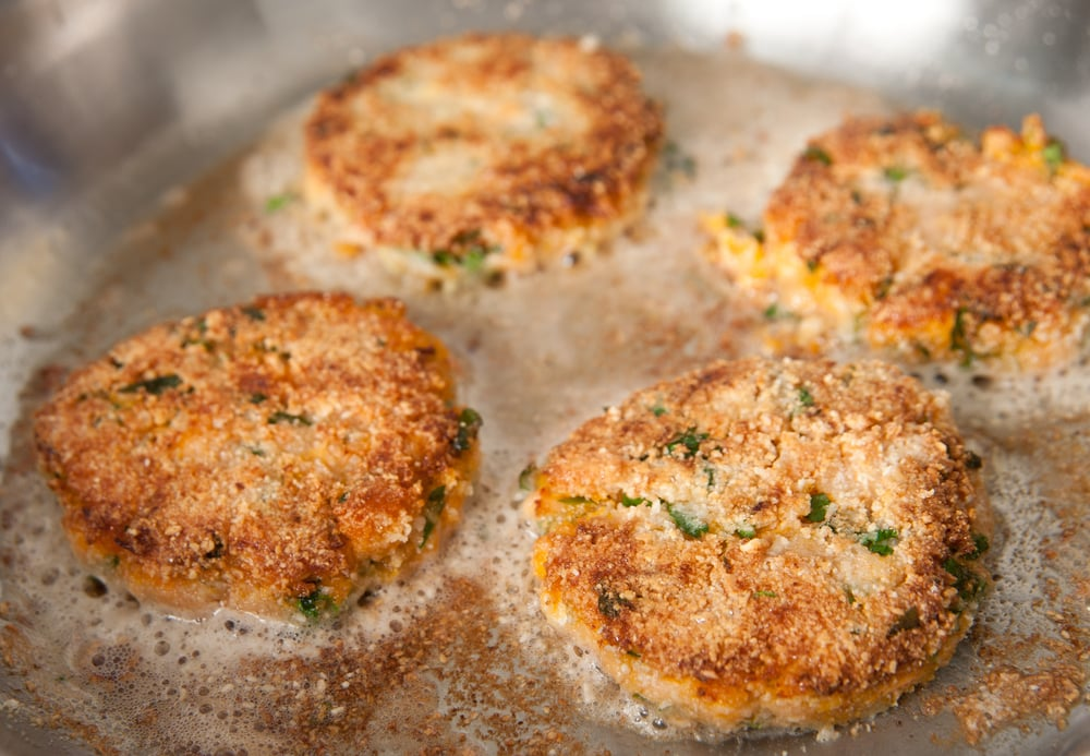 Crab Cakes at Oriole Park at Camden Yards