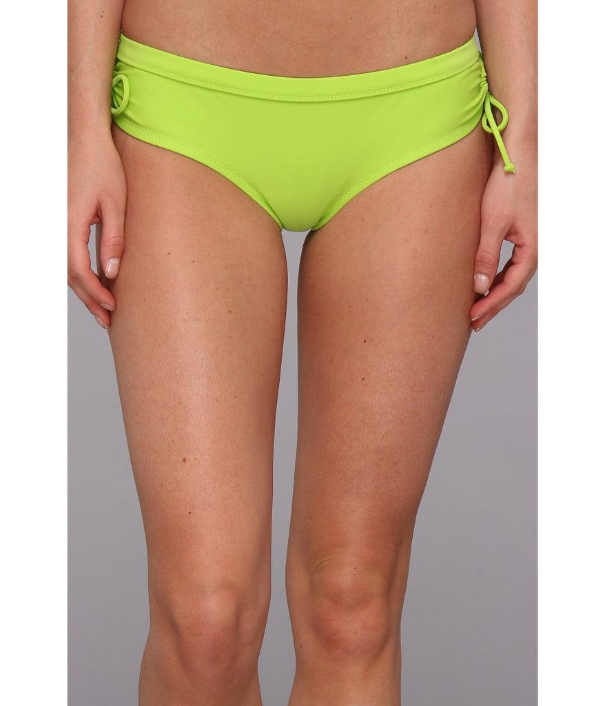 Floral Bandeau + Neon Boy Shorts