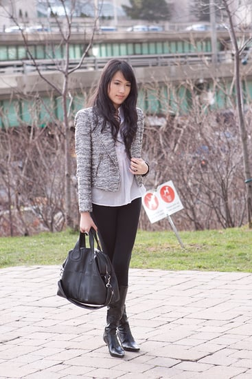 Outfit of the day: Tweed Blazer