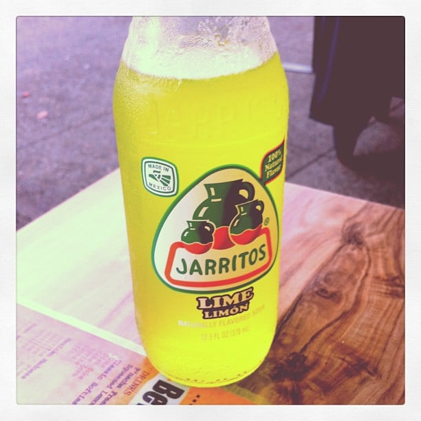 Check out what Jess found at P'Nache in Randwick — a delish Mexican soft drink, perfect for a hot Summer day.