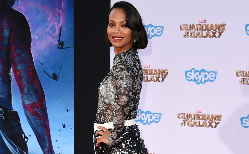 Zoe Saldana has opened up about her unpleasant experience filming Pirates of the Caribbean