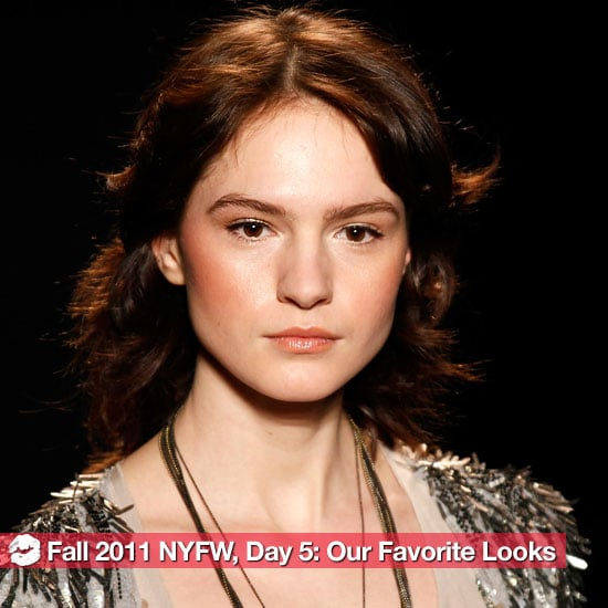 The Best Looks From Day 5 of 2011 Fall New York Fashion Week