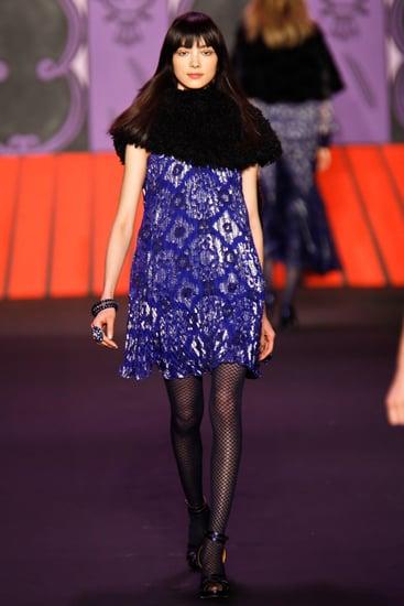 Fall 2011 New York Fashion Week: Anna Sui